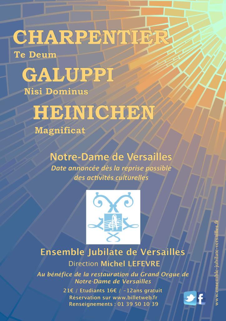 Ensemble Jubilate De Versailles L Ensemble Jubilate De Versailles Un Des Plus Grands Choeurs Versaillais Specialise Dans La Musique Baroque Et Dirige Par Michel Lefevre